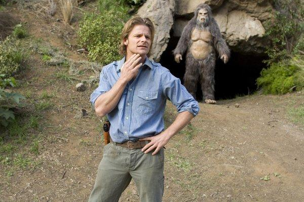 """In the 2008 movie """"Strange Wilderness,"""" TV show host Peter Gaulke, played by Steve Zahn, may actually have found Bigfoot."""