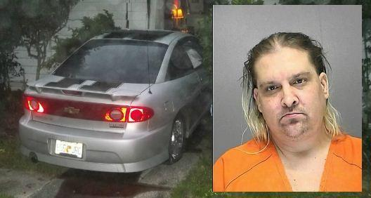 DUI suspect Robert Gutheil was shot at after crashing into Michael Nordman's house in DeLand early Thursday.
