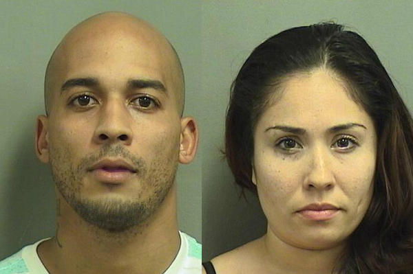 Geavon Tribble and Luisa Porras, both 27 of Lake Worth, are accused of subleasing a Palm Springs townhome they were being evicted from.