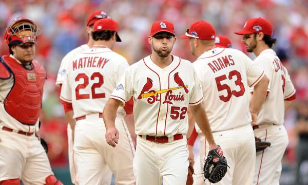 St. Louis Cardinals starter Michael Wacha will try to close out the National League Championship Series against the Dodgers on Friday.