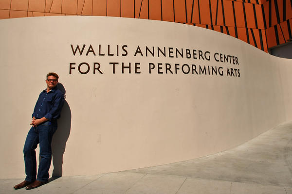 The new performing art center, which includes the old Beverly Hills Post office, was designed by architect Zoltan Pali, above.