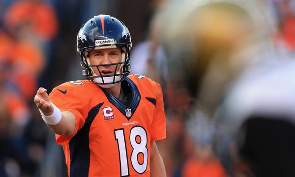 Denver Broncos quarterback Peyton Manning is still a beloved figure in Indianapolis, where he spent the first 14 years of his NFL career.