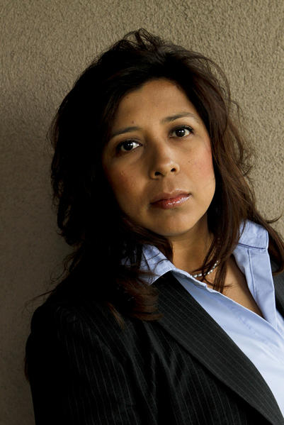 "Montebello Mayor Christina Cortez, shown in 2011. She said after her husband's arrest that she ""would urge everyone and the public to let this investigation take its course."""