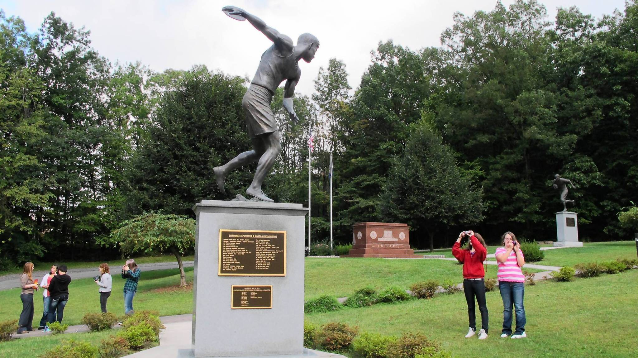 jim thorpe James francis thorpe (sac and fox (sauk): wa-tho-huk, translated as bright path may 22 or 28, 1887 – march 28, 1953) was an american athlete and olympic gold.