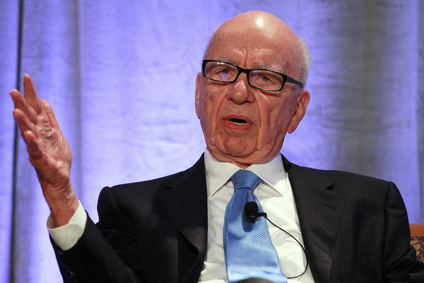 Fox shareholders on Friday voted down a proposal that would have stripped the board chairmanship from Rupert Murdoch, shown in 2011.