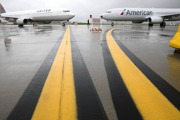 The opening of the new runway completes the first phase of the O'Hare International Airport expansion project, which originally had an estimated cost of $6.6 billion in 2001 dollars. Its latest cost is $9.7 billion in 2012 dollars, according to the city.
