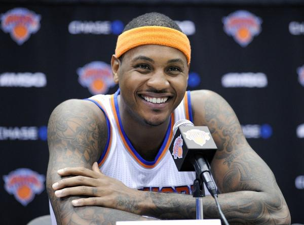 Will Carmelo Anthony be a Laker in the future?