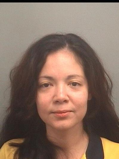 Anny Belkis Terrero, 38, is accused of trying to hire an undercover police officer to kill her husband and a male acquaintance, according to Boynton Beach police.