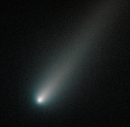 Comet ISON intact so far