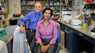 Couple joins forces to research breast cancer genetics
