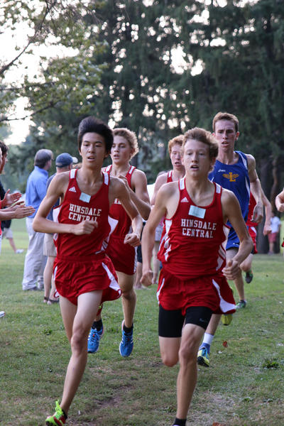 Kevin Huang and Billy Magnesen of Hinsdale Central ...