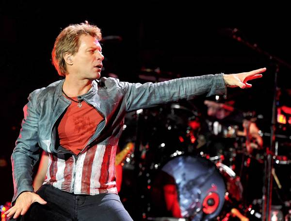 Jon Bon Jovi will play at Mohegan Sun on Oct. 25.