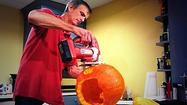Video: Sentinel reporter Kevin Spear shares his politics-inspired pumpkin carving tips