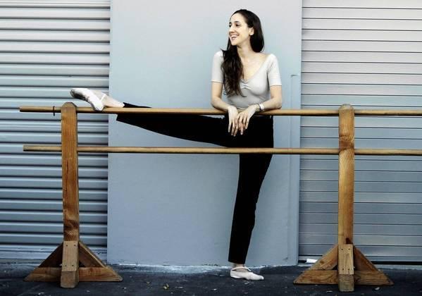 Ballet dancer turned choreographer Melissa Barak in Santa Monica, Calif.