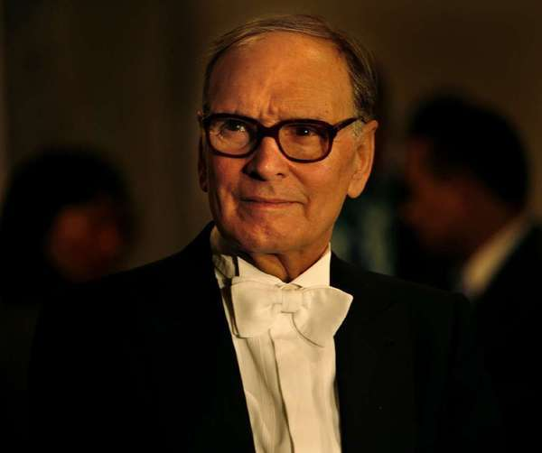 Film composer Ennio Morricone in New York in 2006.