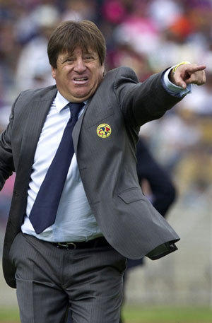 Miguel Herrera is the new coach of Mexico's national soccer team.