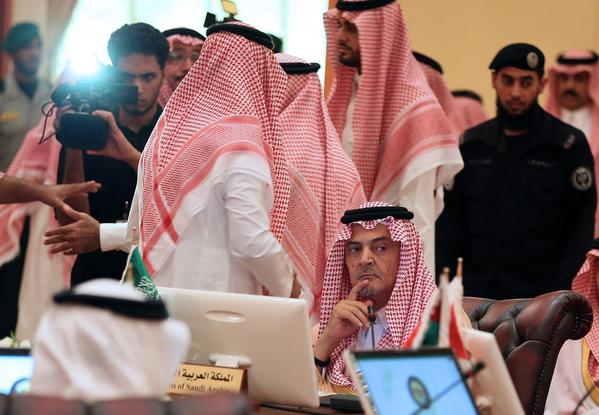 Saudis at Gulf Cooperation Council