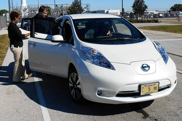 The National Plug In Day event in Naperville, sponsored locally by the Fox Valley Electric Auto Association, drew electric car dealers and private owners who demonstrated some of the latest offerings.