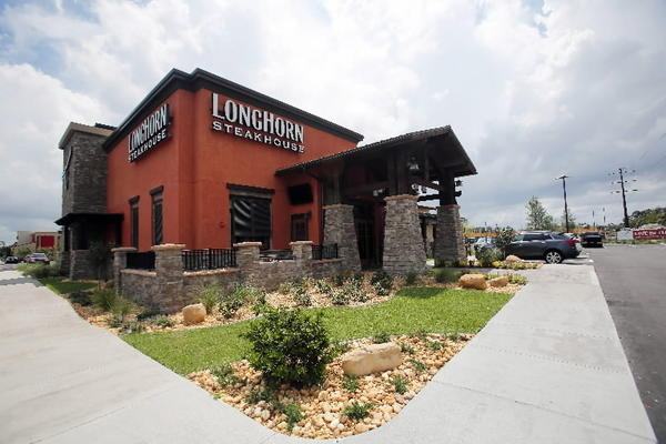 The LongHorn Steakhouse in Sanford.