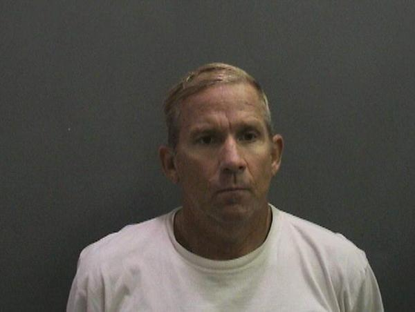 Orange County Sheriff's Department booking photo of Richard Rack.