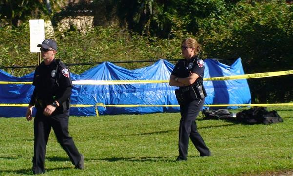 The partially decomposed body of a clothed person was discovered in a Pembroke Pines lake