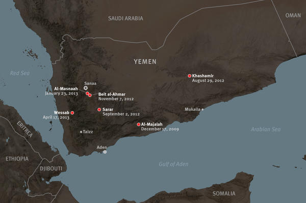 U.S. drone strikes in Yemen and Pakistan - U.S. targeted killings in Yemen