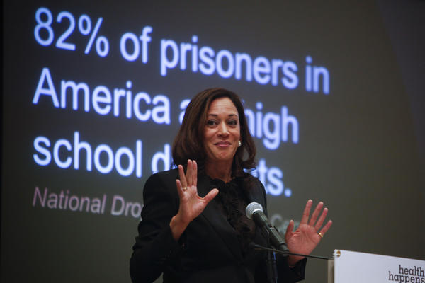 State Attorney General Kamala Harris wants California to pay more attention to the problem of school truancy.