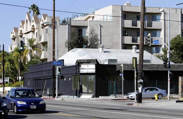 Residents worry that a new marijuana dispensary at Centinela Boulevard and Palms Avenue in Mar Vista will add to congestion and increase crime.