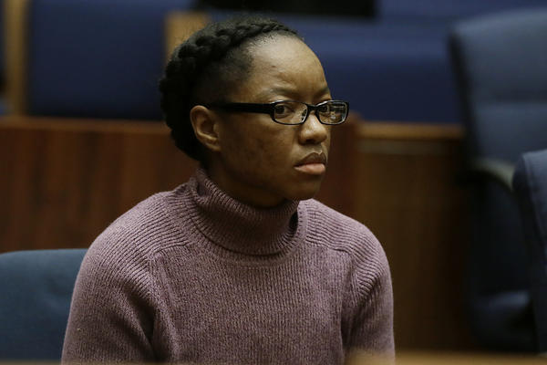 Kiana Barker was convicted Friday of second-degree murder in the beating death of her foster child, Viola Vanclief, 2.