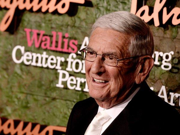 Philanthropist Eli Broad designated a $250,000 prize, given Friday in his and his wife's honor, to go to the downtown arts high school.