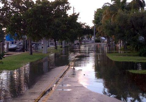 The National Weather Service is forecasting more flooding caused by seasonal high tides