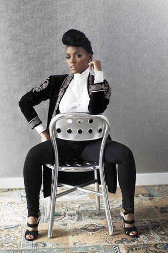 Janelle Monae's distinct look