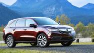 2014 Acura MDX gets a makeover