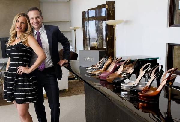 Lauren Bruksch and Taz Saunders are launching the women's shoe line Palter DeLiso.