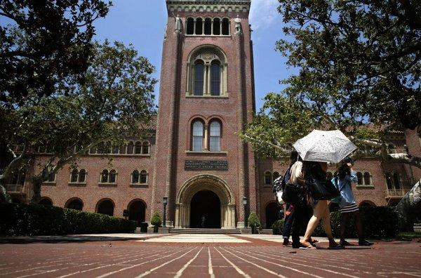 A newly published list of the top 400 American charities ranked by donations received in 2011-12 places USC at No. 30. Its Bovard Administration Building is pictured. The top arts and culture fundraiser was the Smithsonian Institution, at No. 95.
