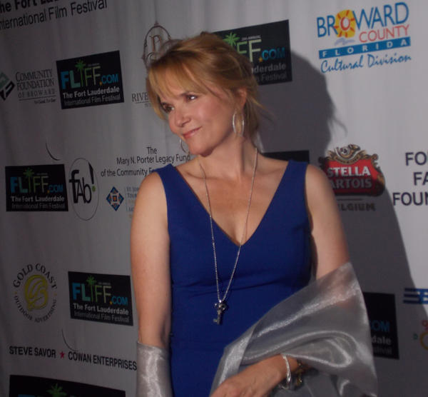 Celeb-spotting around South Florida - Lea Thompson