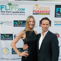 Shana Betz and Stephen Moyer