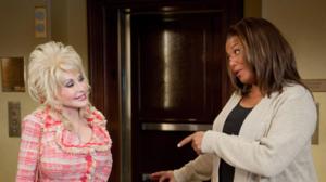 Watch Dolly Parton rap for Queen Latifah