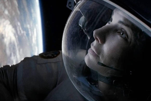 "Sandra Bullock in ""Gravity"""