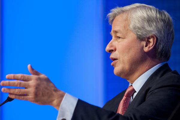 The outline of the tentative agreement was reached Friday night during a telephone call involving U.S. Atty. Gen. Eric H. Holder Jr., JPMorgan Chase Chief Executive Jamie Dimon, above, JPMorgan general counsel Stephen Cutler and Associate U.S. Atty. General Tony West, said a person familiar with the negotiations.