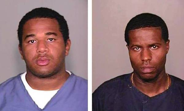 Convicted murderers Joseph Jenkins, left, and Charles Walker have been recaptured weeks after escaping from a Florida prison using forged documents.