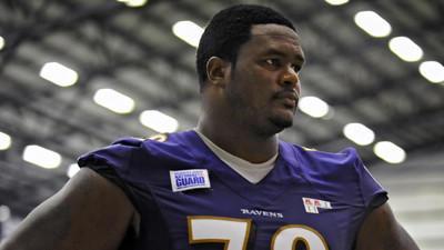 Ravens scratch LT Bryant McKinnie, WR Brandon Stokley