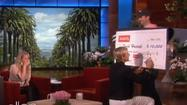 Ellen DeGeneres gives $10,000 to waitress who paid soldiers' tab
