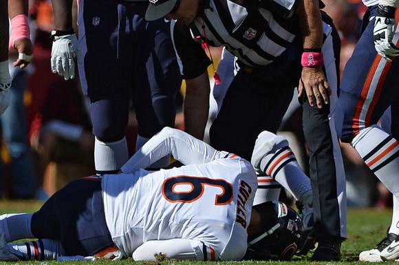 Jay Cutler injured groin