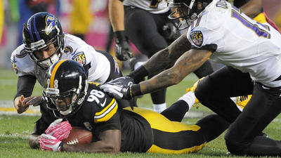 Ravens' struggles continue in 19-16 loss on road to Steelers