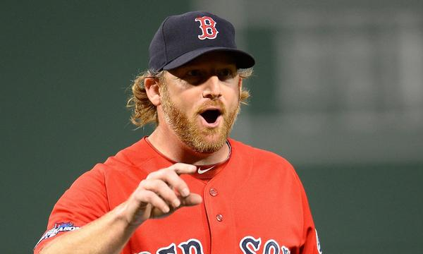 Boston Red Sox reliever Ryan Dempster is excited to be playing in the World Series despite being demoted to the bullpen.