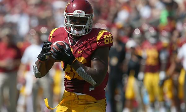 USC tight end Xavier Grimble is not expected to play Saturday against Utah because of injury.