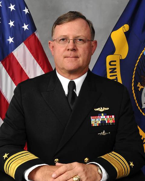 Navy Vice Adm. Tim Giardina was suspended and demoted to two-star rank in early October because of a criminal investigation into whether he passed or sold counterfeit gambling chips used at an Iowa casino.