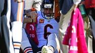 Bears lose Jay Cutler to injury, fall to Redskins 45-41