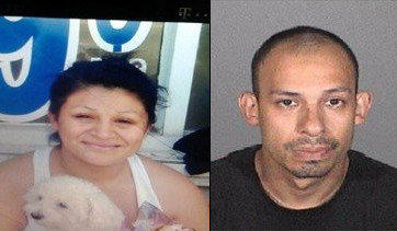 Karen Pineda, left, was last seen with former boyfriend Jose Luis, right, Marin, police said.